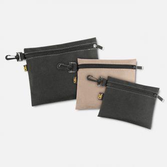 Zippered Bags, 3 pcs