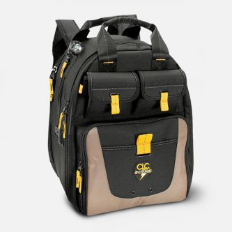 Tool Backpack, USB E-Charge LED Lighted